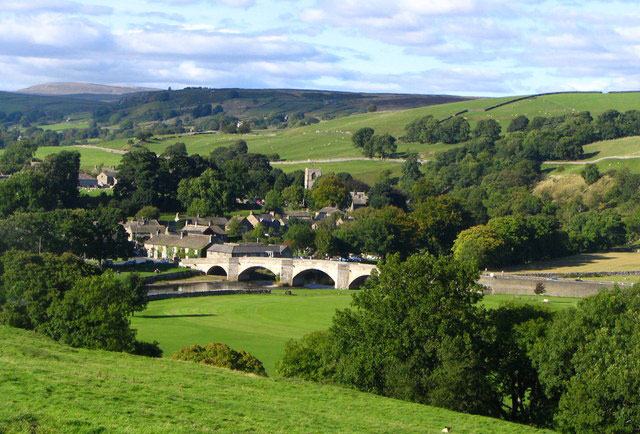 burnsall village