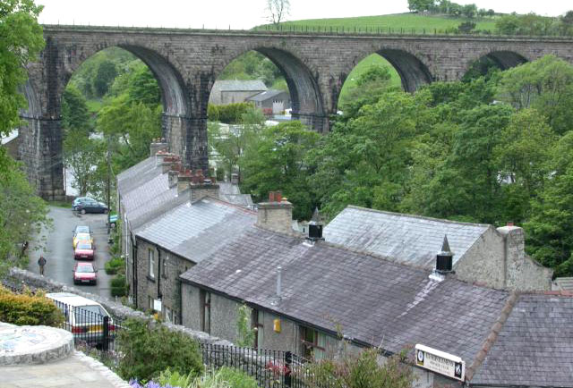 Ingleton and its viaduct