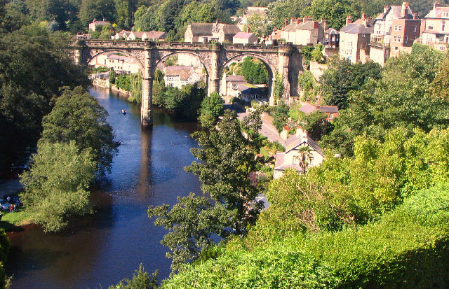 Victorian Railway Viaduct, Knaresborough