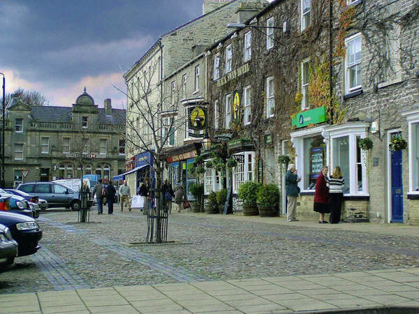 Leyburn town centre