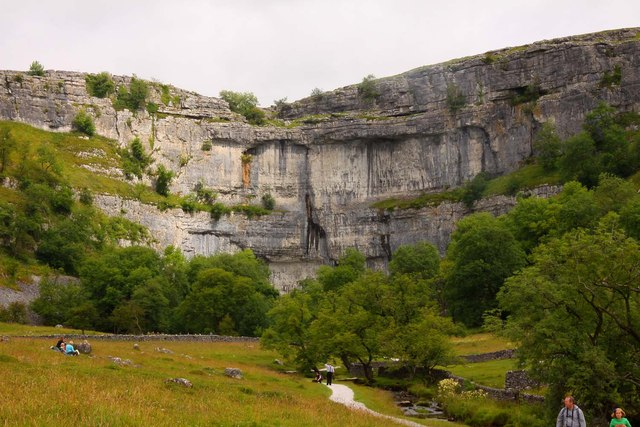 Malham Cove Copyright Steve Daniels and licensed for reuse under this Creative Commons Licence