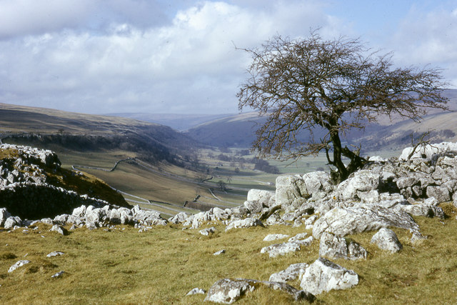 View from near the Hawkswick to Malham footpath