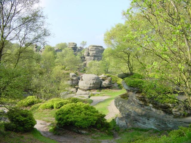 Brimham Rocks near Summerbridge in Nidderdale