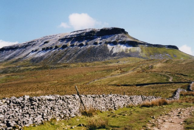 Pen y Ghent, the path from Brackenbottom
