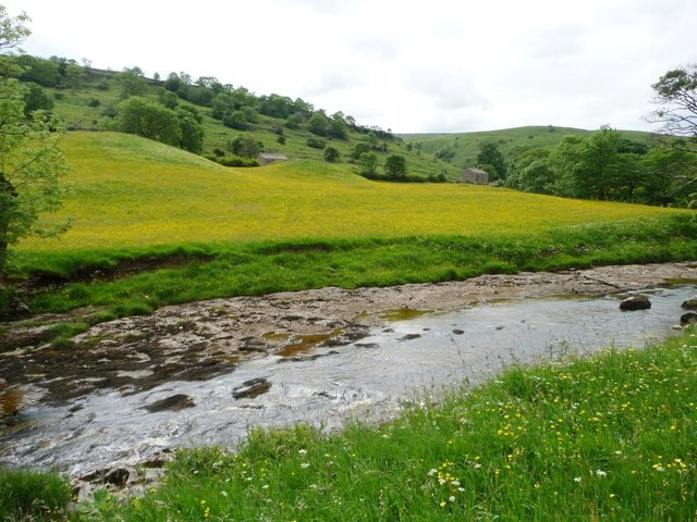 River Wharfe, seen from The Dales Way