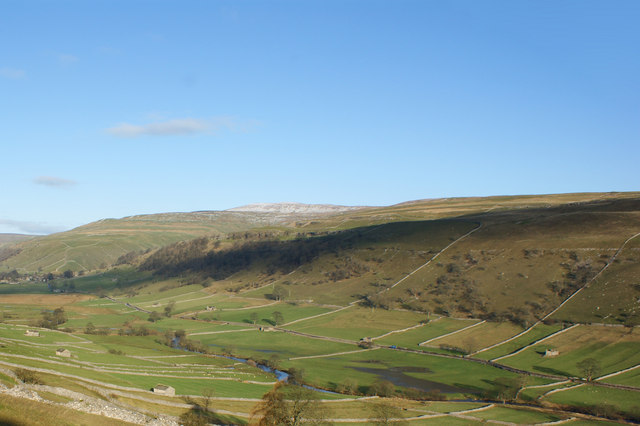 Upper Wharfedale with Buckden Pike