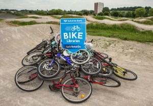 Yorkshire Bank Bike Libraries celebrate 500 bikes and a new round of funding